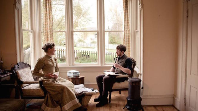 Young couple lives completely Victorian lifestyle, except for talking about it online.