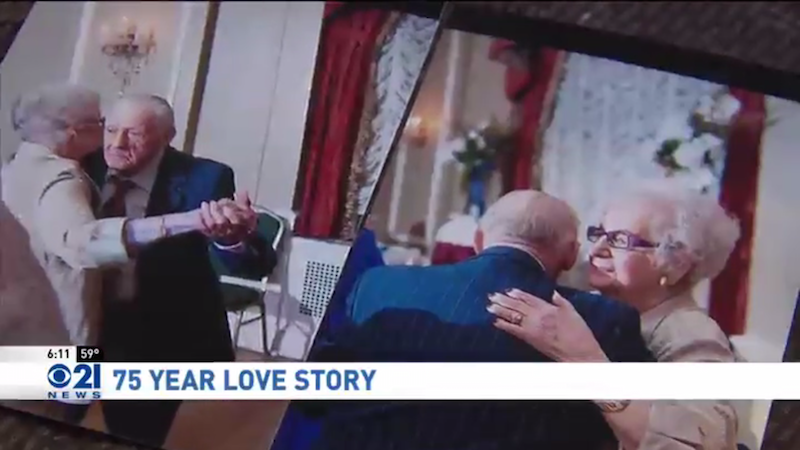 Real-life 'Notebook' couple, together for 75 years, dies less than a day apart.