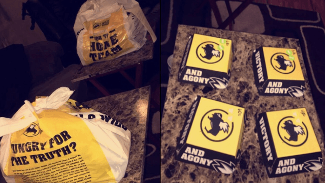 Couple's Buffalo Wild Wings order goes viral, gives the internet relationship goals.