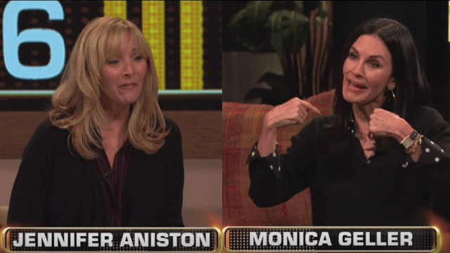 Courtney Cox and Lisa Kudrow played 'Friends' trivia and proved they still watch the reruns too.