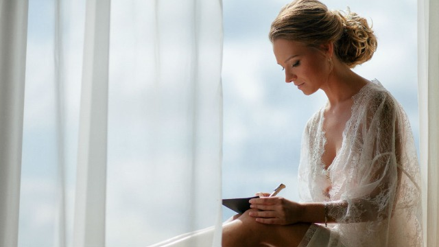 Cousin asks if she's wrong to refuse bride's demand for essay application for her pandemic wedding.