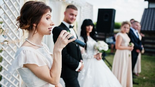 10 people share the story of the cringiest speech they've heard at a wedding.