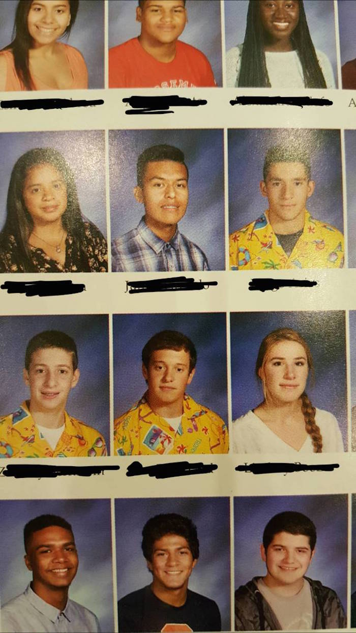 Kids use a horrid yellow shirt to prank their school's yearbook with ugliness.