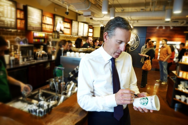 Tall order: Starbucks wants you to talk about race with your barista.