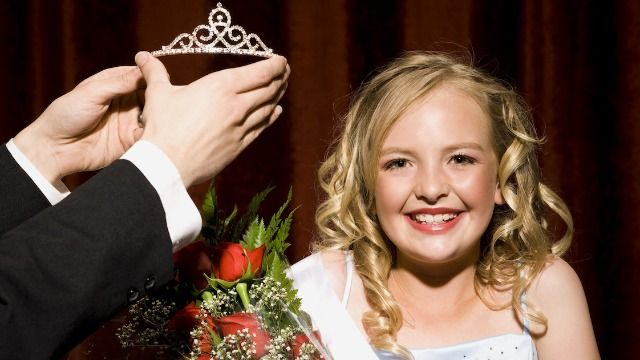 Dad asks he's wrong to forbid ex from entering their daughter into beauty pageants.