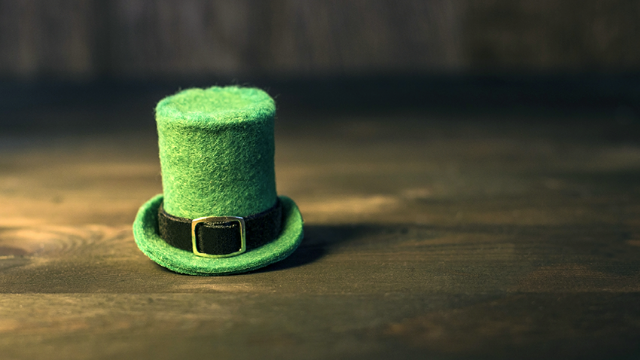 Dad and photographer Alan Lawrence turns his baby into a deliriously evil leprechaun for St. Patrick's Day.