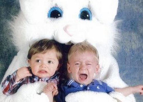Daddy Horror Stories: How my 2-year-old twins and I became terrified of the Mall Easter Bunny.
