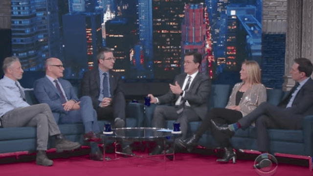 Stephen Colbert hosted 'The Daily Show' reunion we all need right now.