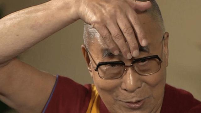 Even the Dalai Lama can do a Donald Trump impression.