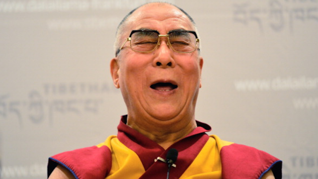 Wait, what the hell did the Dalai Lama just say about women only being useful when pretty?