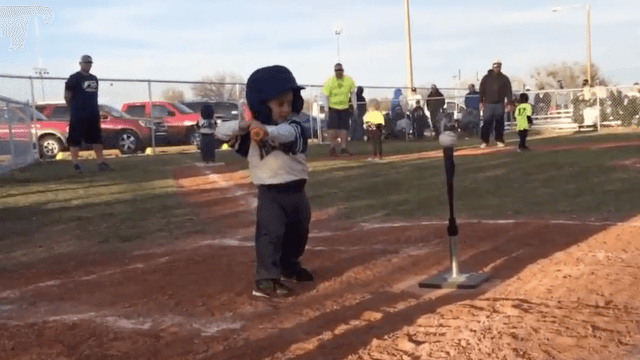 This dancing tee-ball kid is the cocky, showboating athlete American sports needs.