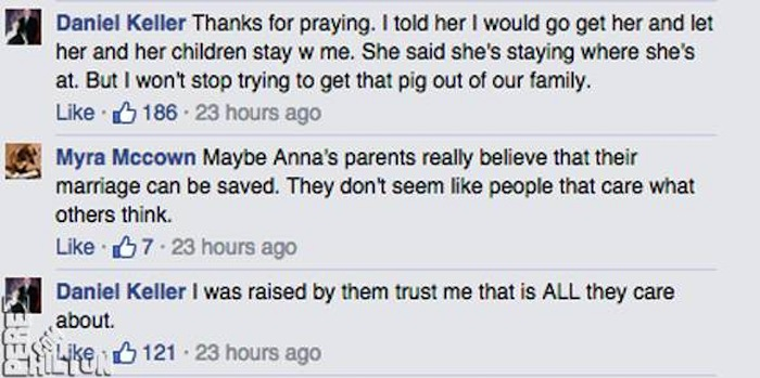 Anna Duggar's brother is saying what we're all thinking in epic Facebook thread.