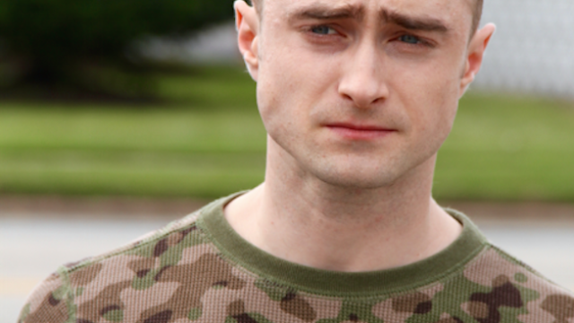 Daniel Radcliffe sadly parts ways with his luscious hair.