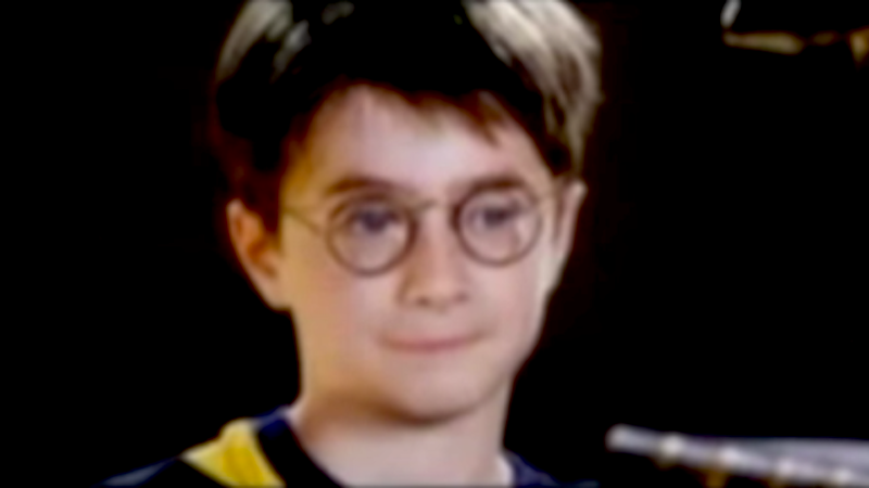 Daniel Radcliffe's adorable audition for 'Harry Potter' will remind you how far he's come.