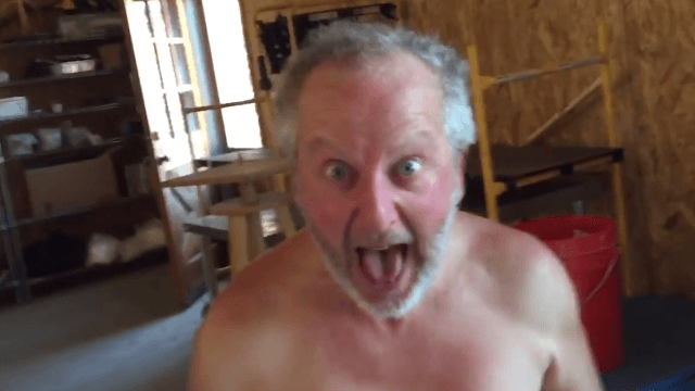 One of Daniel Stern's eight-legged 'Home Alone' co-stars dropped by for a visit.