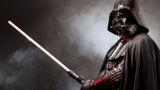 Dad tries to scare son by waking him up as Darth Vader, discovers son is a 'fearless' badass.