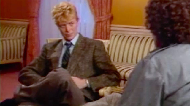 David Bowie once challenged MTV's policy on airing black artists in a very tense interview.