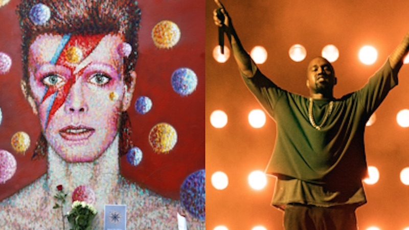 There's a compelling conspiracy theory that David Bowie predicted Kanye.