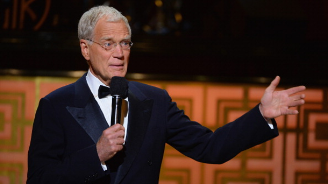 Retired David Letterman looks really, really different.