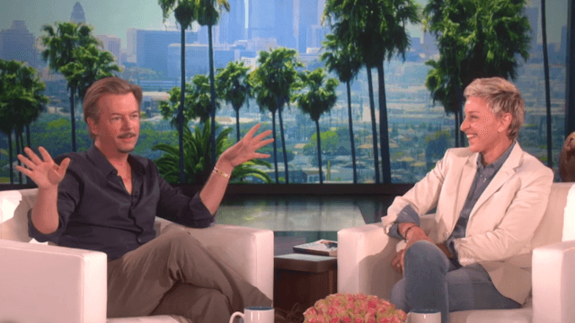 David Spade tells Ellen about when he drunkenly embarrassed himself in front of Adele. It's not pretty.