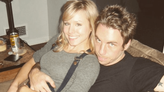 Dax Shepard shares embarrassing throwback photo with Kristen Bell to prove how lucky he is to have her.