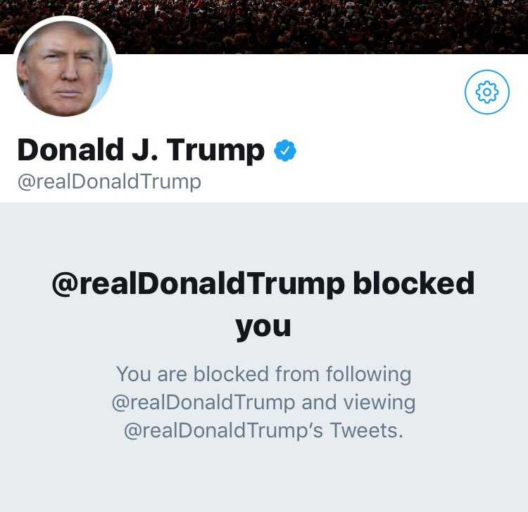 Trump is such a snowflake on Twitter that he blocked this dude over a polite Father's Day message.