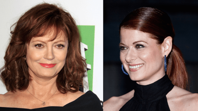Debra Messing and Susan Sarandon are fighting on Twitter again.