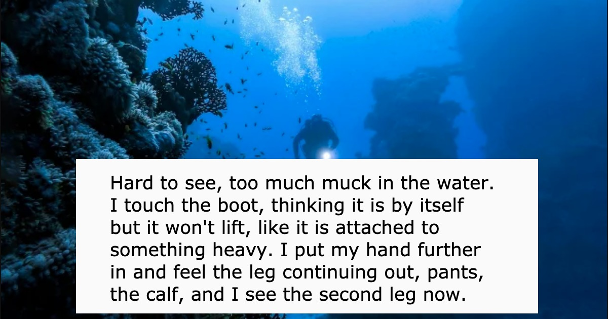 20 deep sea divers share their horror stories from underwater.