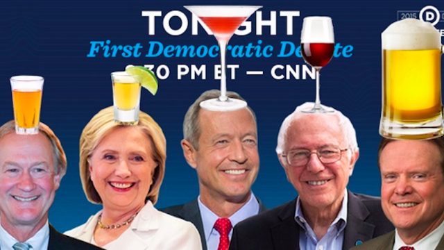 How not to die if you're playing a #DemDebate drinking game tonight.