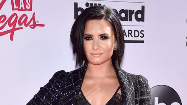Demi Lovato shares dramatic before-and-after photos of her eating disorder recovery.