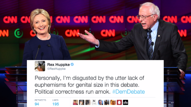 29 of funniest reactions from comedians on Twitter to the Democratic Debate in Flint, Michigan.