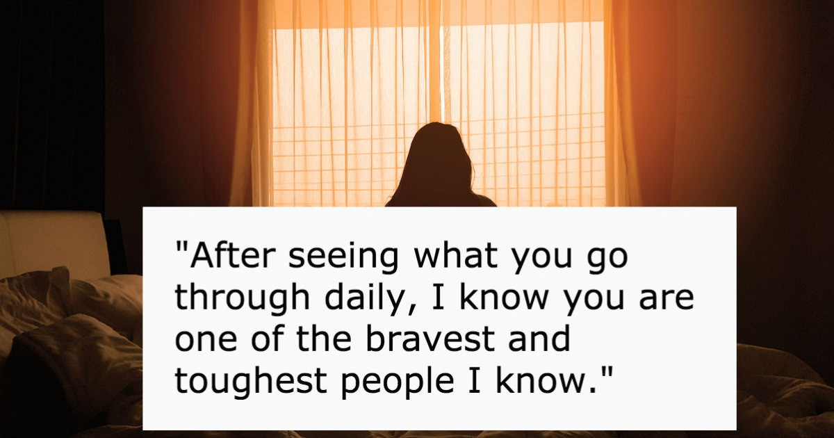 30 people with depression share the most helpful thing someone said while they were low
