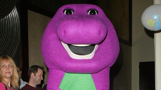 Guy who played Barney the Dinosaur gives TMI interview about his tantric sex business.