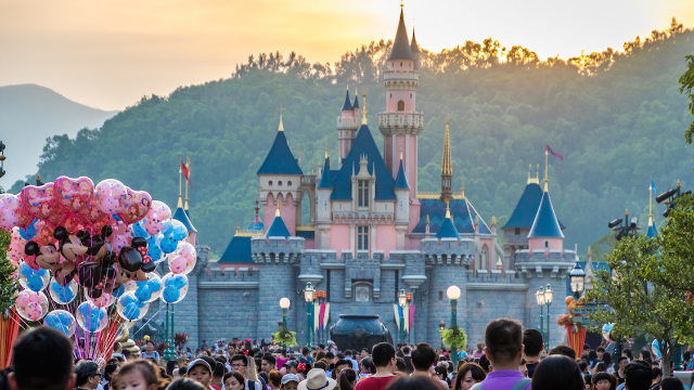 Disney heiress visits Disneyland undercover and leaves 'livid' over working conditions.