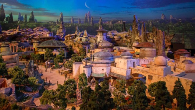 Disney Star Wars Land First Look Model: Opening in 2019