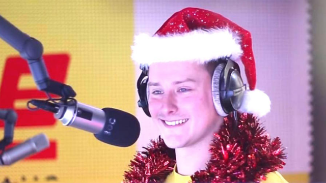 "Radio DJ barricades self in booth, plays ""Last Christmas"" until daughter begs him to stop."