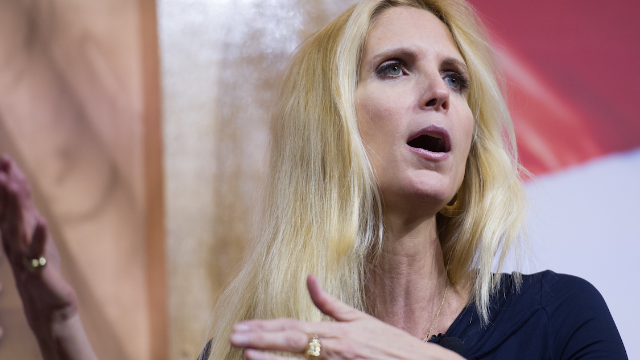 A doctor dragged Ann Coulter so hard she'll need to go to the emergency room.