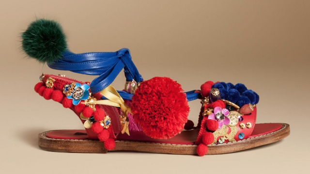 Dolce & Gabbana named a pair of shoes the 'Slave Sandal,' as if the design wasn't ugly enough.