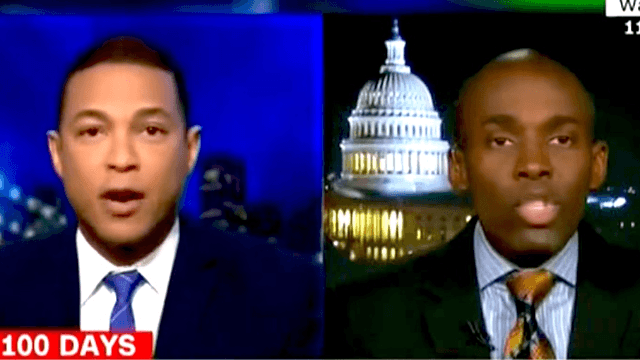 CNN's Don Lemon shuts segment down when panelist won't stop saying 'fake news.'