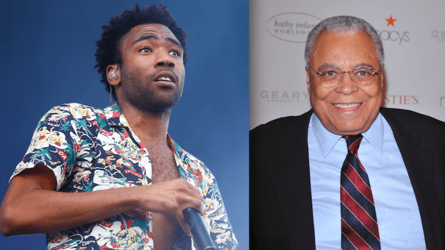 Donald Glover and James Earl Jones will star in Disney's live-action 'Lion King' movie, thank god.