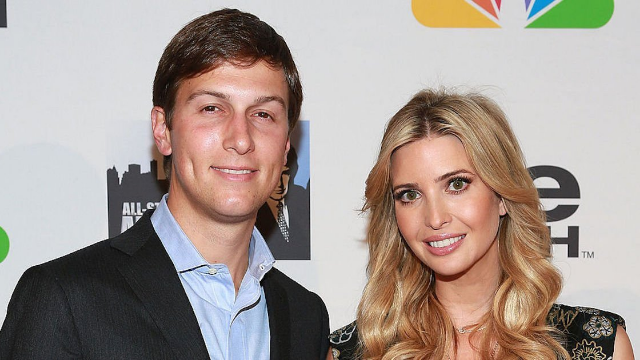 Trump asked for Ivanka and Jared Kushner to be removed from their White House roles.