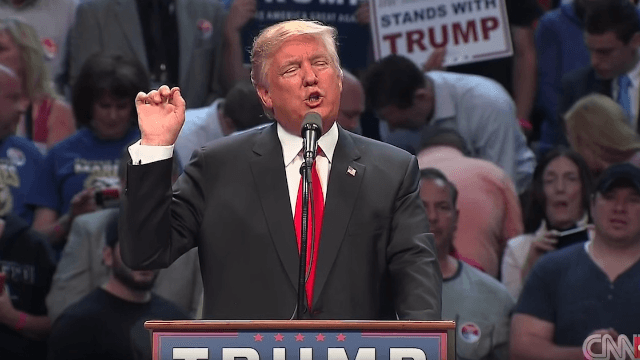 Donald Trump mixed up 9/11 and 7-11 at his New York rally. Twitter was there to help him out.