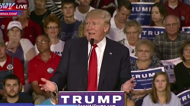 If you can watch this surreal Donald Trump video without laughing, you should be President.