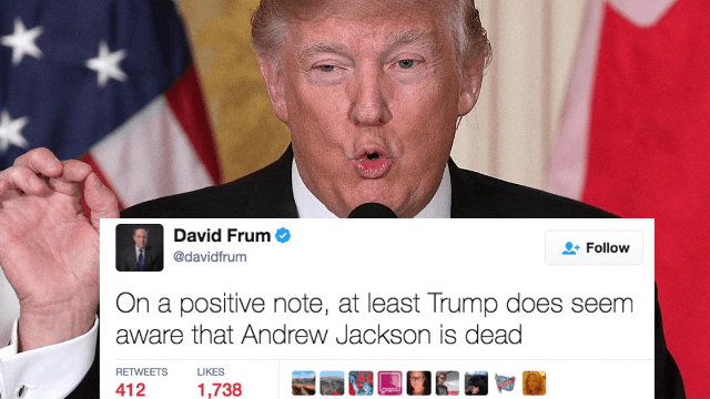 Twitter destroys Donald Trump for his very inaccurate comments about the Civil War.