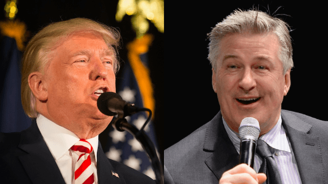 Donald Trump fumes over 'ridiculous' 'Alec Baldwin situation.' Looks like someone struck a nerve.