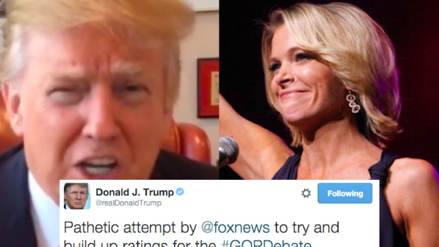 Donald Trump wusses out of GOP debate because Megyn Kelly will be there (and Fox made fun of him).