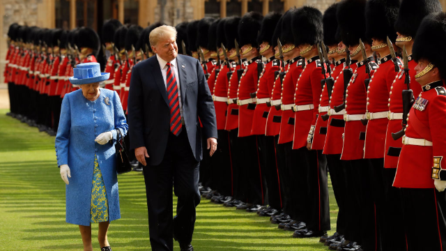 Donald Trump Gets Brutal Geography Lesson After Great Britain Gaffe