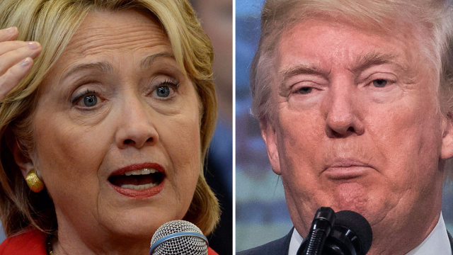 Donald Trump thought his off-the-cuff Hillary joke was so hilarious he just had to tweet it.