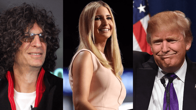 """Trump's old Howard Stern interviews return: Ivanka """"a piece of ass,"""" 35 is """"check-out time"""" for a woman, etc."""