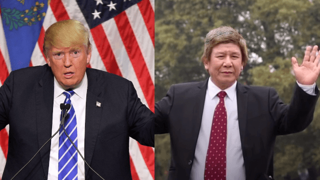 Will China's number one Trump impersonator make him as mad as Alec Baldwin does?